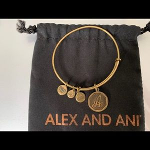 Alex And Ani / Bracelet / Initial A